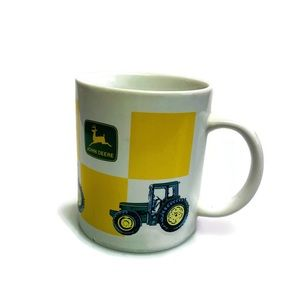 5 for $30 John Deere Tractors Coffee Mug EUC